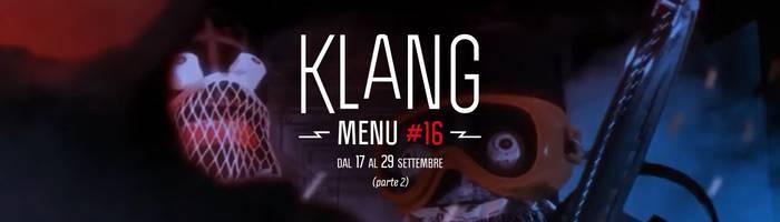 Klang: menu #16 (parte2)