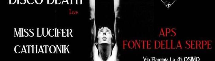 BATBOX @ FONTE DELLA SERPE | Live: Disco Death