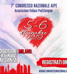 7th AIPE National Congress (Italian Association of Preeclampsia)