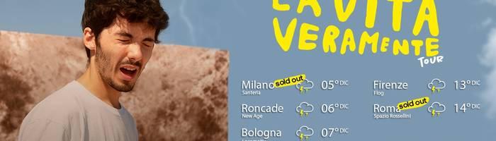 SOLD OUT - Fulminacci in concerto a Bologna