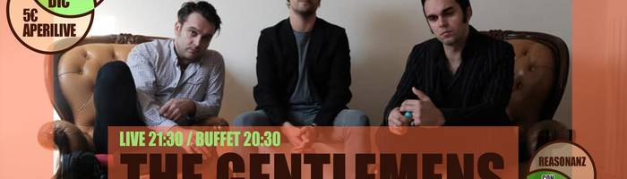The Gentlemens [punk blues] aperilive @Reasonanz