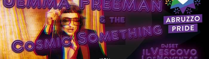 JemmaFreeman&theCosmicSomething - support AbruzzoPride! dom8dic