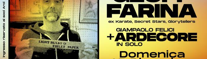 Geoff Farina + Ardecore in solo - IndieRocket Satellites #03