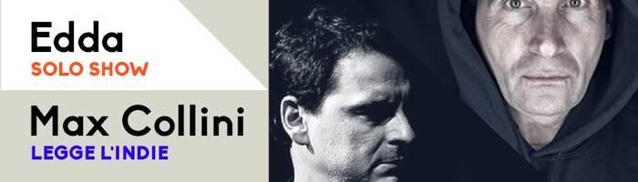 EDDA solo show + Max Collini at MONK // Roma