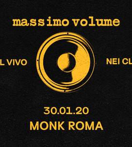 Massimo Volume live at MONK // Roma