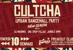 Cultcha urban dancehall party at freakout club