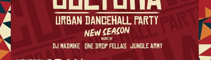Cultcha urban dancehall party at freakout club