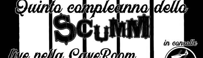 5° Compleanno Scumm! Plakkaggio + Neid / Los Noventas sab11gen