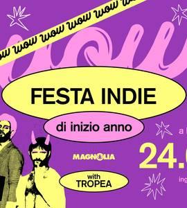 WOW • La FESTA INDIE di Inizio Anno | Tropea live