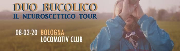 Duo Bucolico live at Locomotiv Club   Bologna