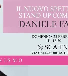 Fakeminismo - spettacolo stand up comedy di Daniele Fabbri