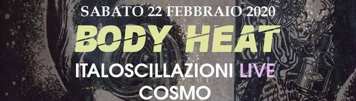 Bodyheat Carnival Party con ItalOscillazioni LIVE allo SCUMM