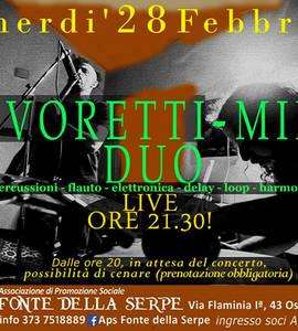 Savoretti-Mina Duo in concerto