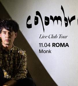Colombre live al Monk • Roma