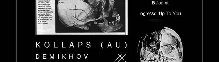 Up To You! /// Kollaps (Aus), Demikhov, Nadsat | Freakout Club