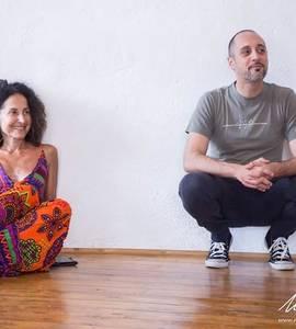 Daniele Parisi nel giardino di Monk / workshop di teatro