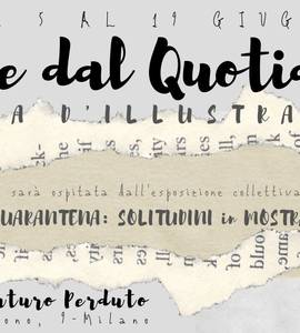 Poesie dal Quotidiano in mostra ~ Arte in quarantena TDFP