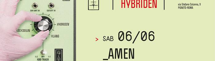 𝗞𝗹𝗮𝗻𝗴 𝗶𝘀𝘁 𝗛𝘆𝗯𝗿𝗶𝗱𝗲𝗻 presents: AMEN