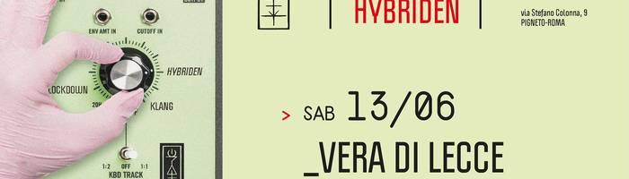 𝗞𝗹𝗮𝗻𝗴 𝗶𝘀𝘁 𝗛𝘆𝗯𝗿𝗶𝗱𝗲𝗻 presents: Vera Di Lecce