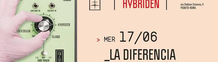 𝗞𝗹𝗮𝗻𝗴 𝗶𝘀𝘁 𝗛𝘆𝗯𝗿𝗶𝗱𝗲𝗻 presents: La Diferencia