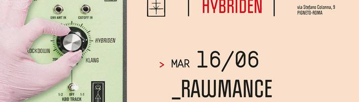 𝗞𝗹𝗮𝗻𝗴 𝗶𝘀𝘁 𝗛𝘆𝗯𝗿𝗶𝗱𝗲𝗻 presents: Rawmance