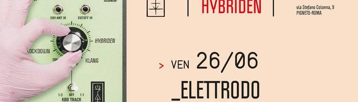 𝗞𝗹𝗮𝗻𝗴 𝗶𝘀𝘁 𝗛𝘆𝗯𝗿𝗶𝗱𝗲𝗻 presents: Elettrodo