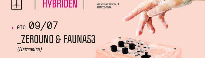 𝗞𝗹𝗮𝗻𝗴 𝗶𝘀𝘁 𝗛𝘆𝗯𝗿𝗶𝗱𝗲𝗻 presents: Zerouno & Fauna53