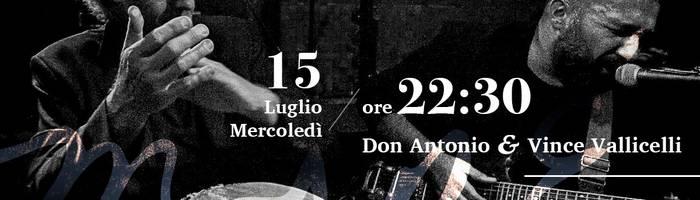 Don Antonio e Vince Vallicelli • LIVE • Maré Cesenatico