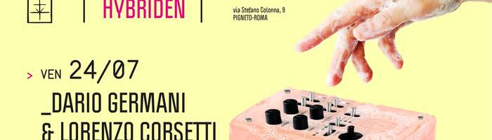 𝗞𝗹𝗮𝗻𝗴 𝗛𝘆𝗯𝗿𝗶𝗱𝗲𝗻: Dario Germani & Lorenzo Corsetti
