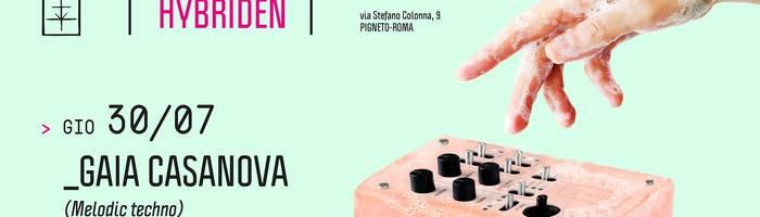 𝗞𝗹𝗮𝗻𝗴 𝗶𝘀𝘁 𝗛𝘆𝗯𝗿𝗶𝗱𝗲𝗻 presents: Gaia Casanova