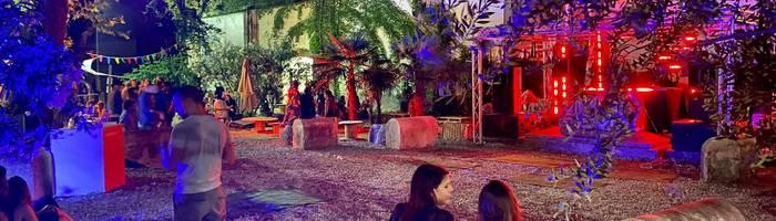 Cena in Bianco nel Giardino del Tempio (max 250 posti)