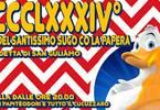 MCCCLXXXIV° FESTA DEL SANTISSIMO SUGO CO LA PAPERA