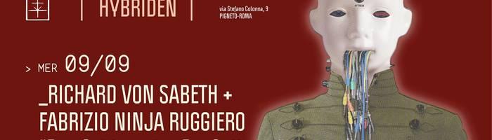𝗞𝗹𝗮𝗻𝗴 pr. Richard Von Sabeth + Fabrizio Ninja Ruggiero