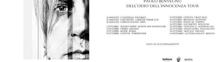 Paolo Benvegnù Live Bologna